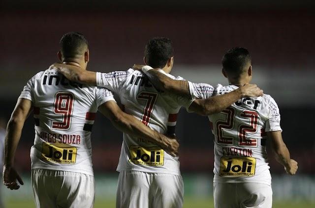 Líder e invicto: São Paulo vence Botafogo e mantém boa fase