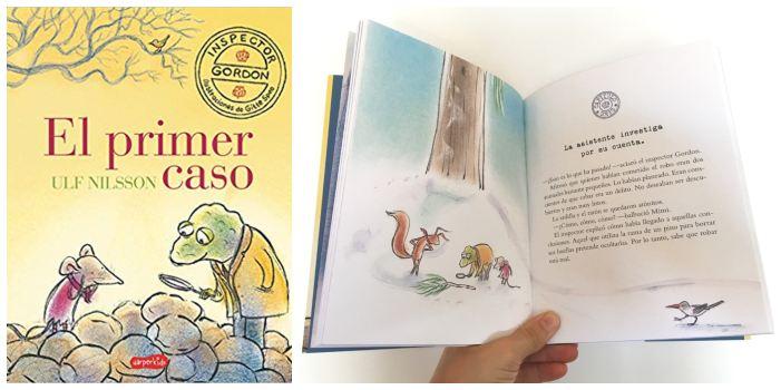 cuentos libros lecturas recomendadas verano 2018 El primer caso nilsson