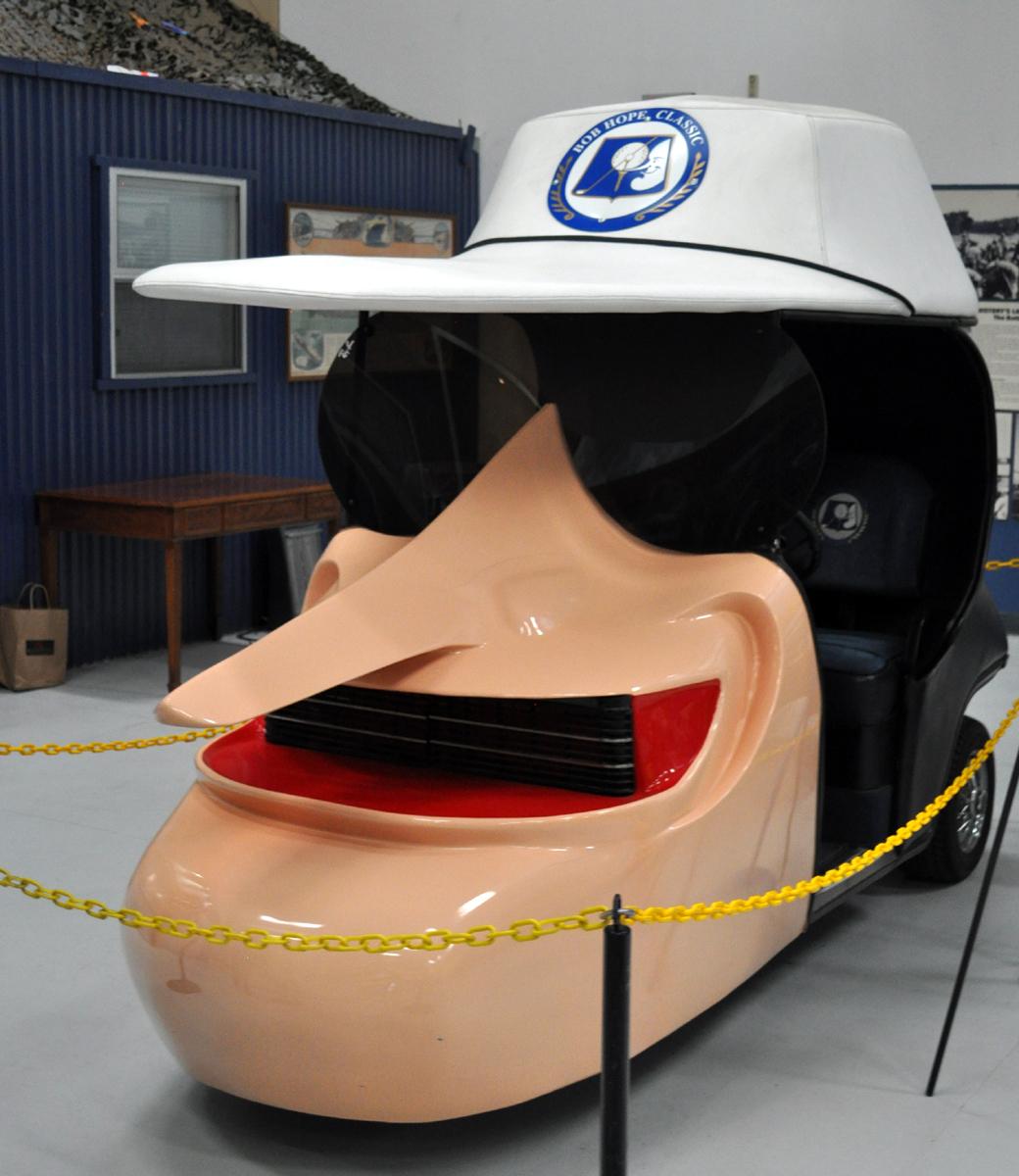 Just A Car Guy: Bob Hope's Cool Custom Golf Cart