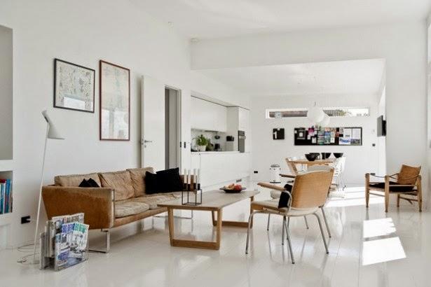 ... intérieur est un mélange de styles vintage et moderne. Brillant