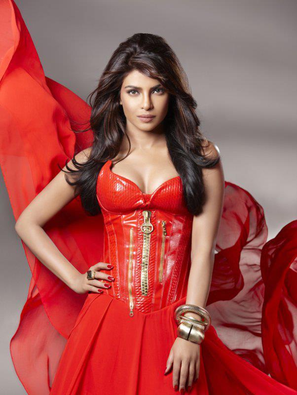 Ankita Lokhande Hd Wallpaper Priyanka Chopra Red Dress Front Zipper Red Nailpolish