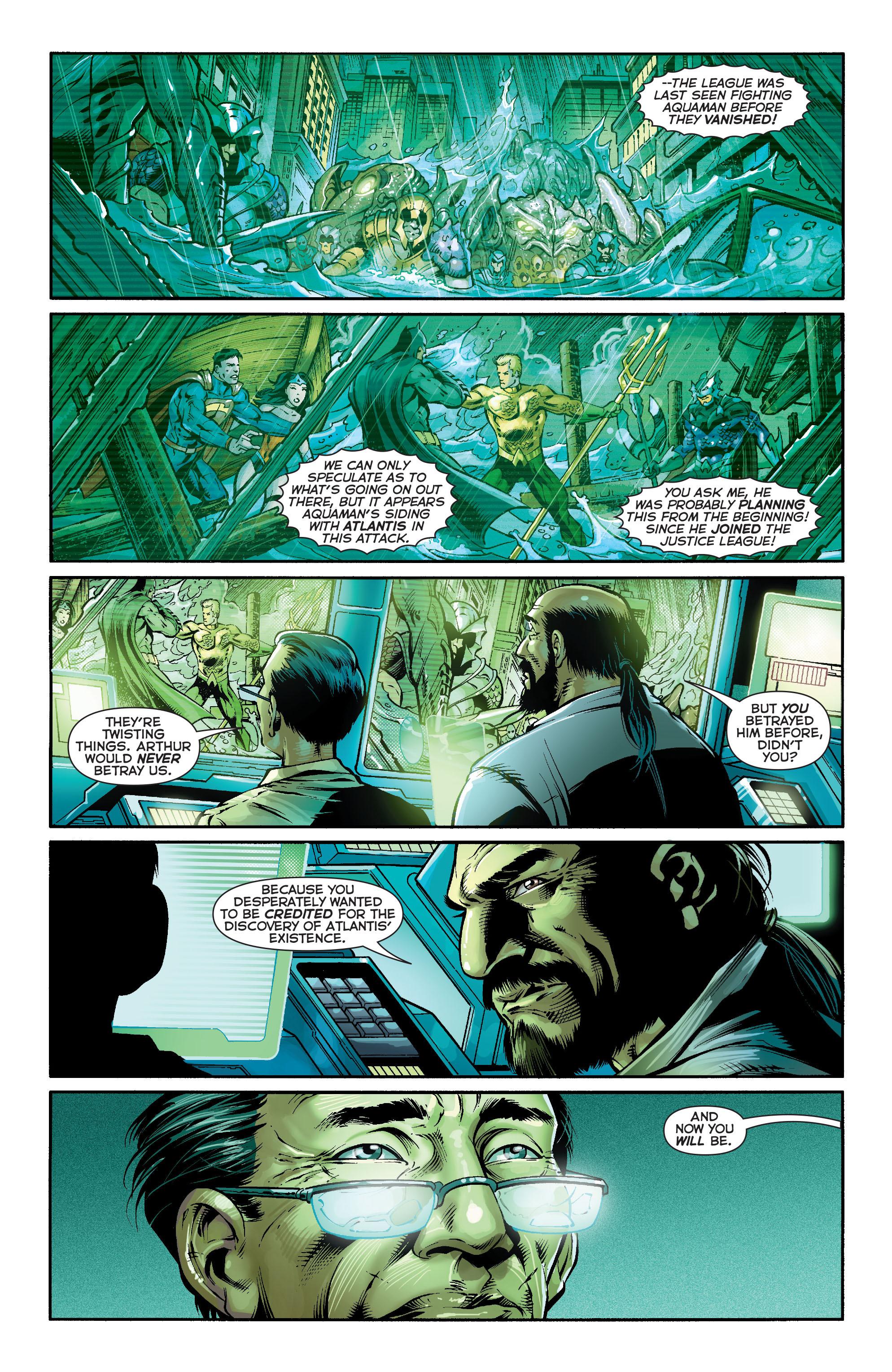 Read online Aquaman (2011) comic -  Issue #16 - 4