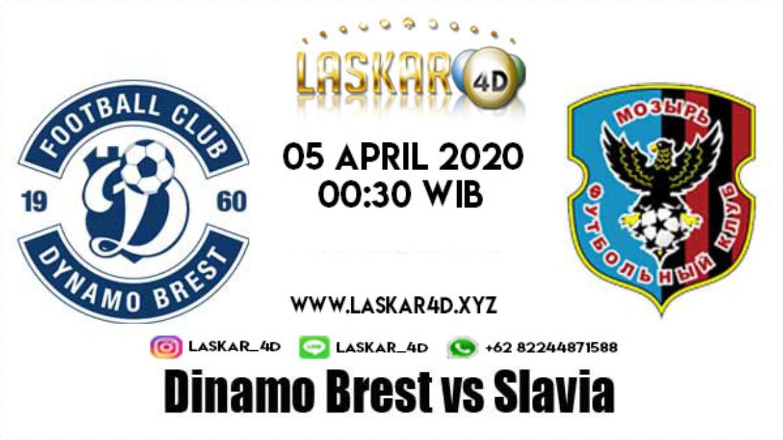Prediksi Bola Dinamo Brest vs Slavia Mozyr Pada 05 April 2020