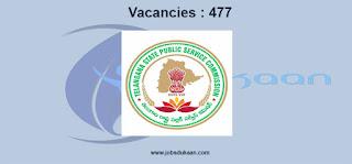 Telangana State Public Service Commissio
