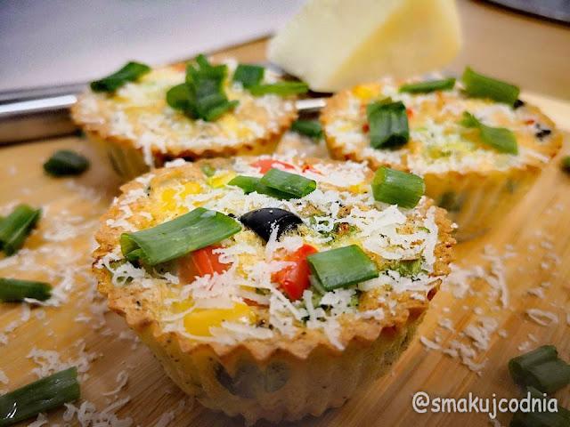 Lekkie muffiny z jajek