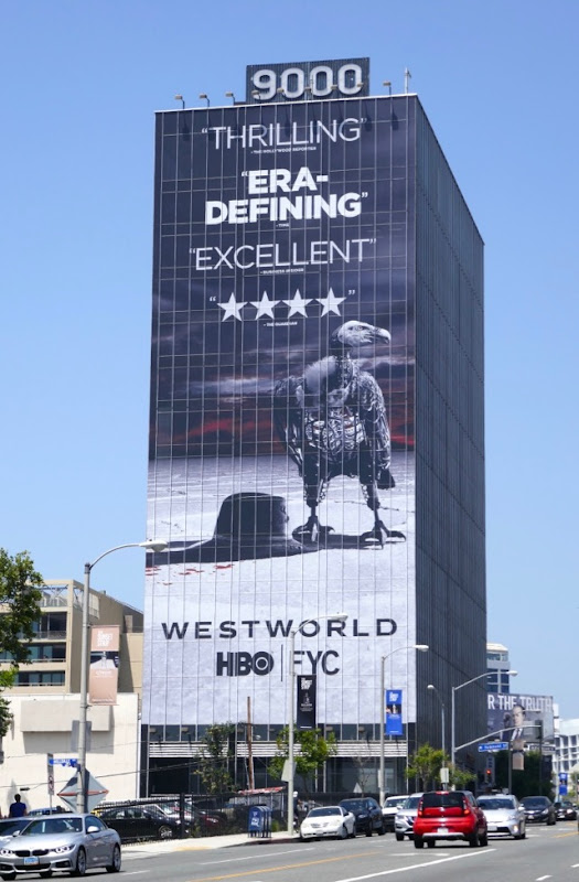 Giant Westworld 2018 Emmy FYC billboard