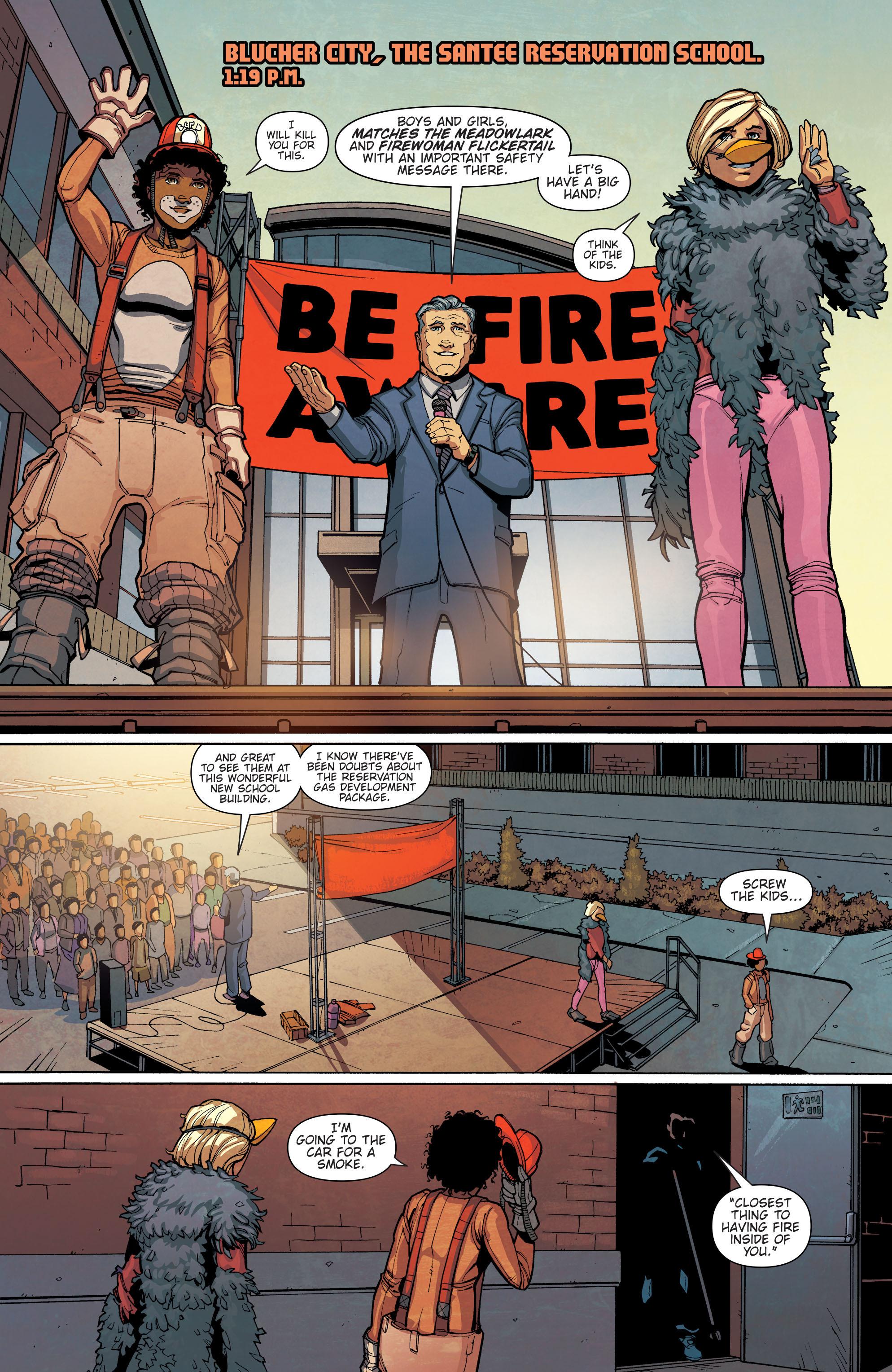 Read online Slash & Burn comic -  Issue #4 - 7