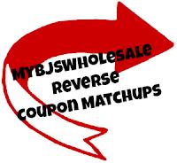 Reverse BJs Coupon Matchups