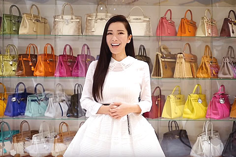 One Of The Women With The Largest Collection Of Hermes Bags - LIVING LIFE TO THE FULLEST