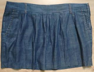 minissaia jeans Luigi Bertolli 46