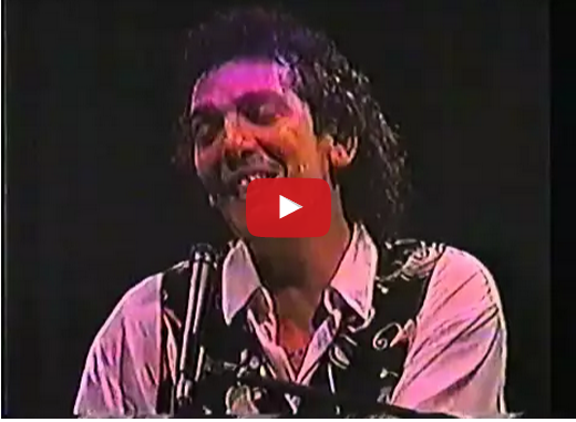 Ilan Chester en concierto en 1983