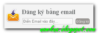 Cute Subscription - Tạo hộp dăng ký (Subscription) trên sidebar cho blogger