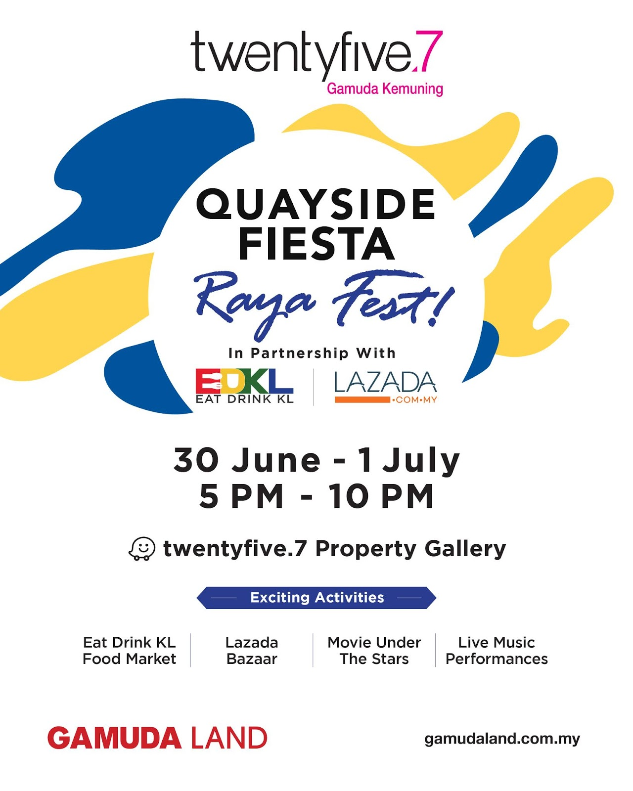 Quayside Fiesta, twentyfive.7 Kota Kemuning