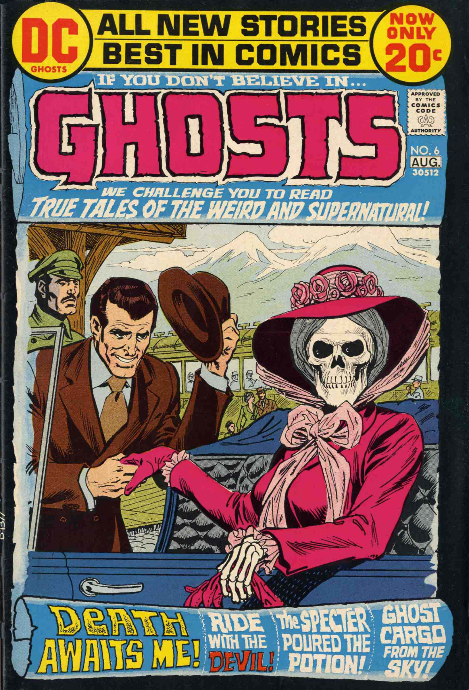 Read online Ghosts comic -  Issue #6 - 1