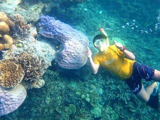 keindahan view wisata pulau seribu