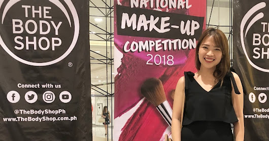 Judging The Body Shop National Make-Up Competition 2018