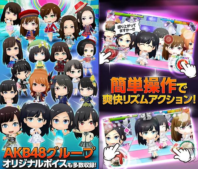 AKB48 音遊 App