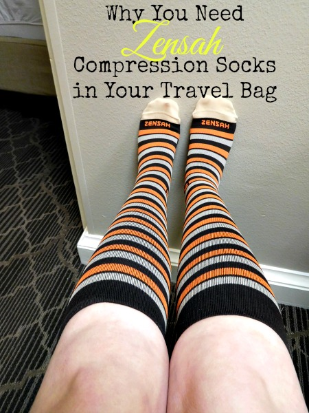 travel with compression socks