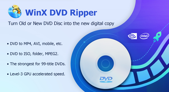 Get WinX DVD Ripper for Free – Fast Rip DVD to MP4 or Hard Drive