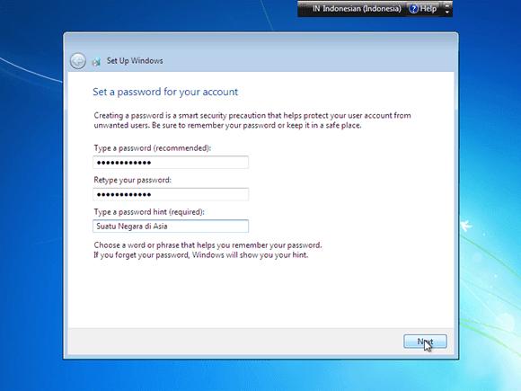 Cara Menginstal Komputer Windows 7 Lengkap Dengan Gambar