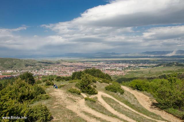 Bitola Panorama near Lavci village - Neolica Hiking Trail, Macedonia