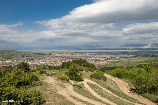 Bitola Panorama near Lavci village - Neolica Hiking Trail, Macedonia