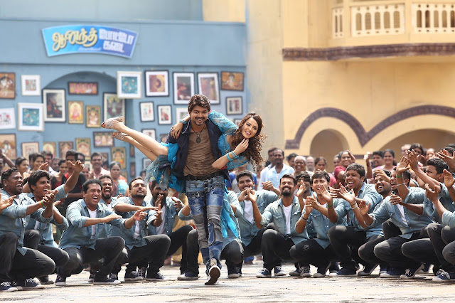 Vijay's Bairavaa Tamil Movie HD Stills