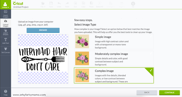 How to Upload Your Own Images in Cricut Design Space for custom shirts and more! #Cricut