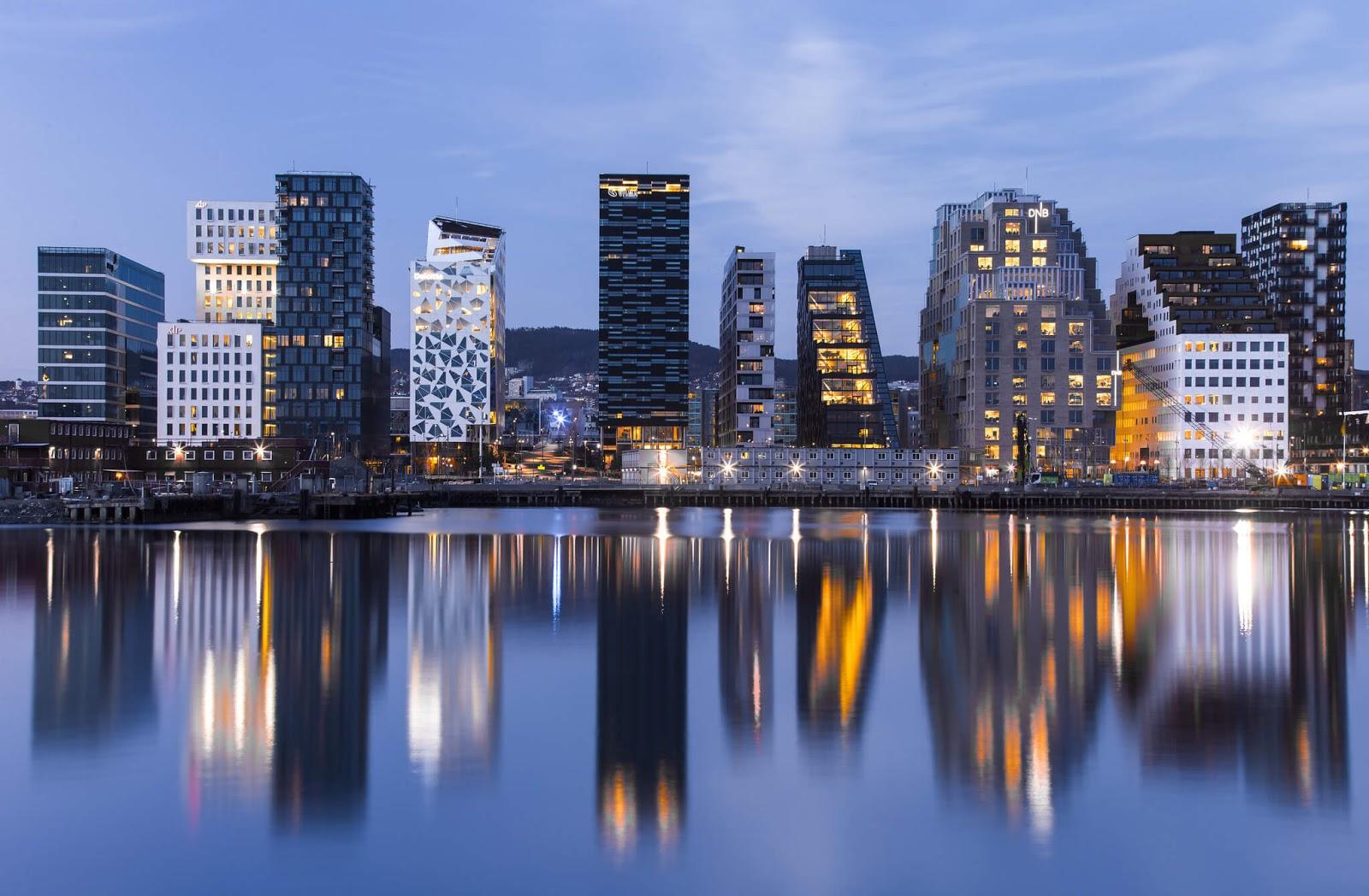 Oslo City Norway