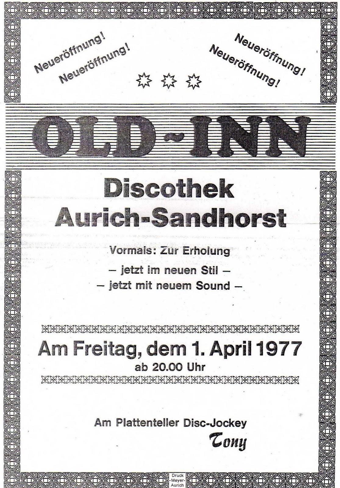 Mucke vom Old Inn, Meta und Fehnhaus: Old Inn Aurich