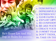 Bruce Lee's Rules For Success