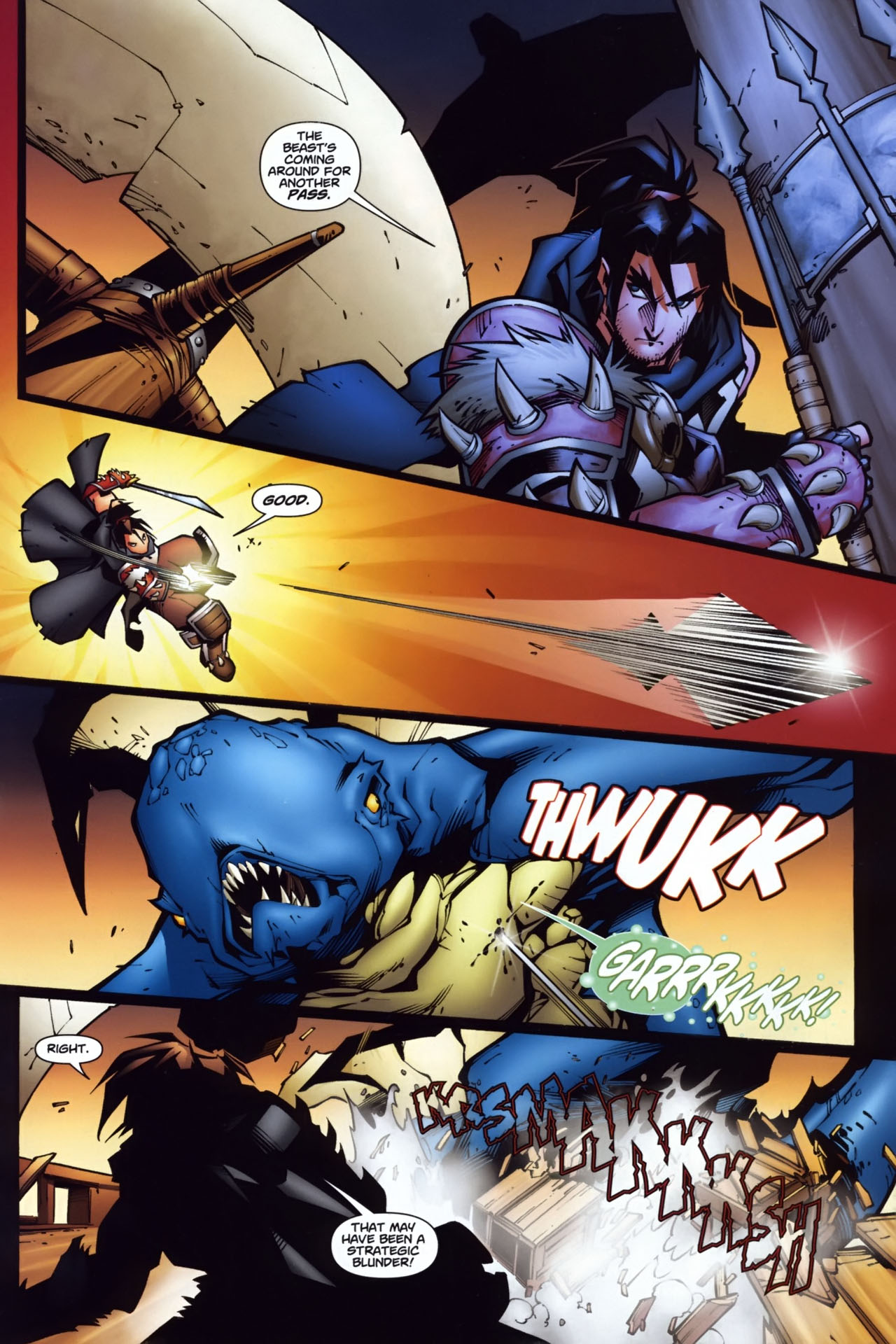 Read online World of Warcraft comic -  Issue #7 - 15