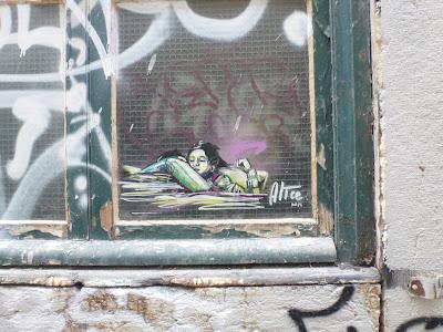 kleines und feines Stencil von Alice - in Lissabon