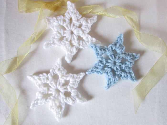 free crochet pattern, tutorial, snowflake, winter, Christmas
