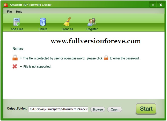Amacsoft PDFPassword how to remover protection of PDF file ?