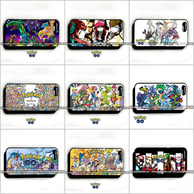 Katalog Custom case pokemon go