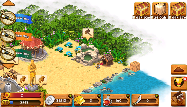 Freemium Queen: Shipwrecked: Volcano Island Android Review