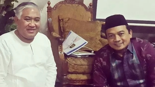 Din Syamsuddin 'Pasang Badan' Bela Bachtiar Nasir, Tersangka TPPU
