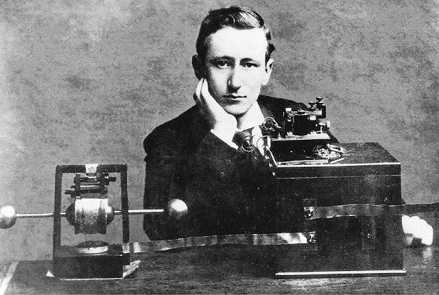 Marconi e seus equipamentos