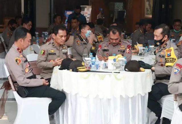 Agus Andrianto Lakukan Supervisi dan Asistensi Ops Aman Nusa II 2020 di Polda Jawa Timur