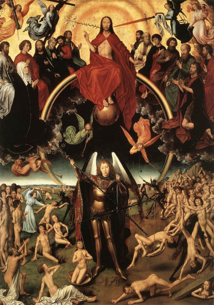 Juízo Final. Hans Memling (1430 - 1494), Muzeum Narodowe, Gdansk.