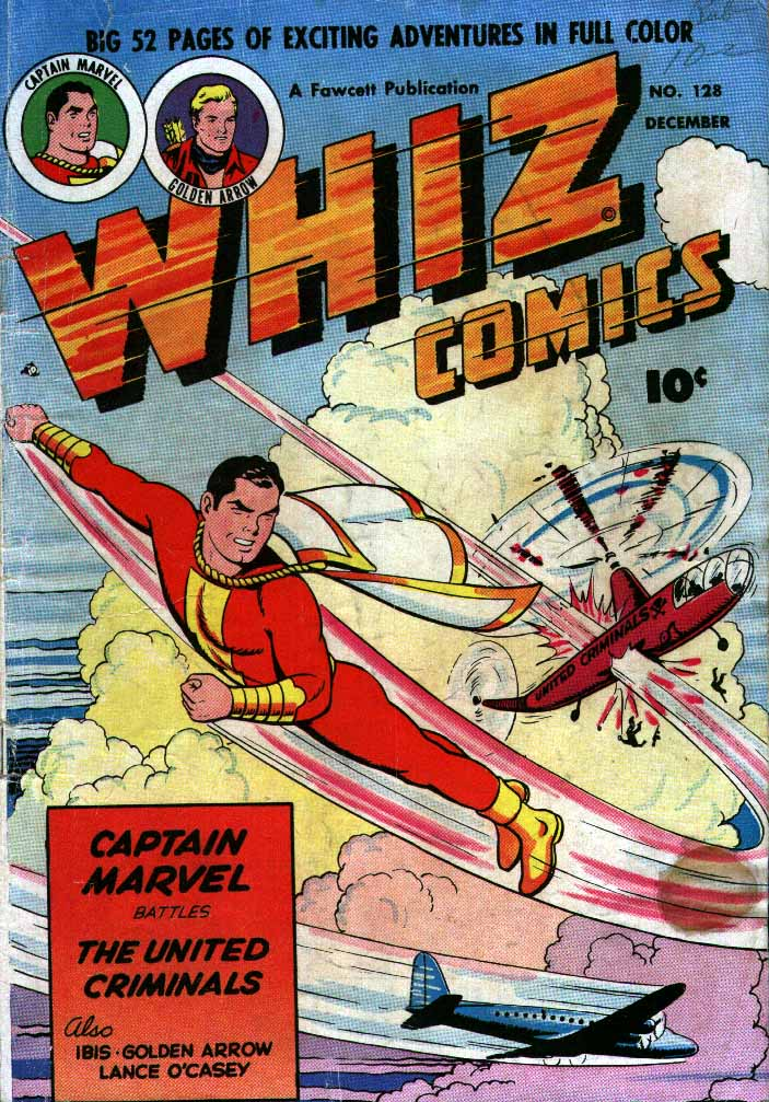 WHIZ Comics issue 128 - Page 1