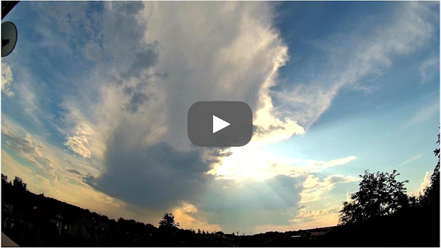VIDEO: Dark Clouds during a Storm time-lapse Full HD