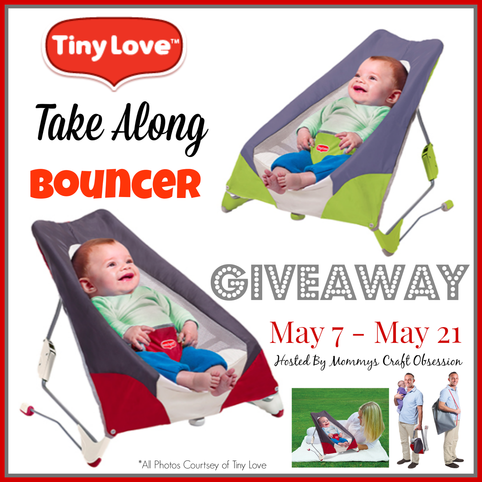 tiny love bouncer chair used dining table and chairs for sale mommy 39s obsessions blogspot take along