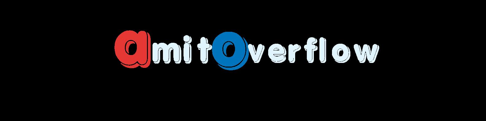 AmitOverflow tech blog (www.amitoverflow.com)