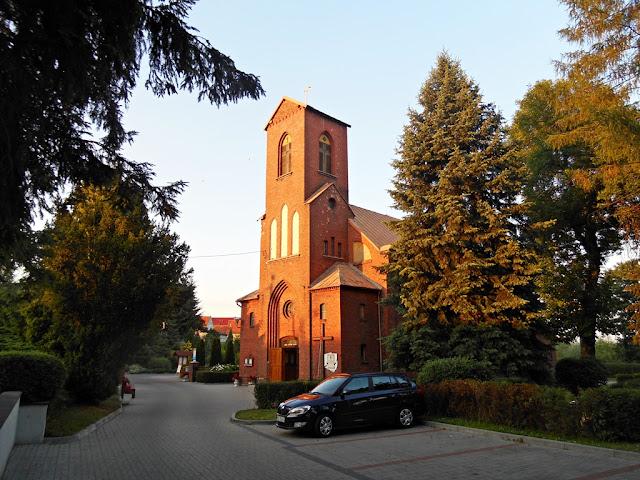 parafia, Głębinów, jezioro nyskie, Nysa, opolskie