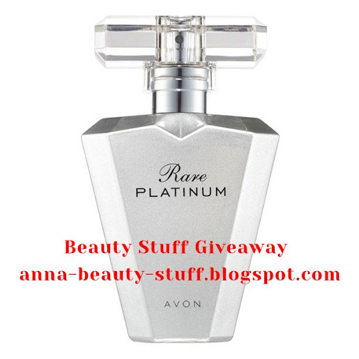 Beauty Stuff Giveaway - Avon Rare Platinum