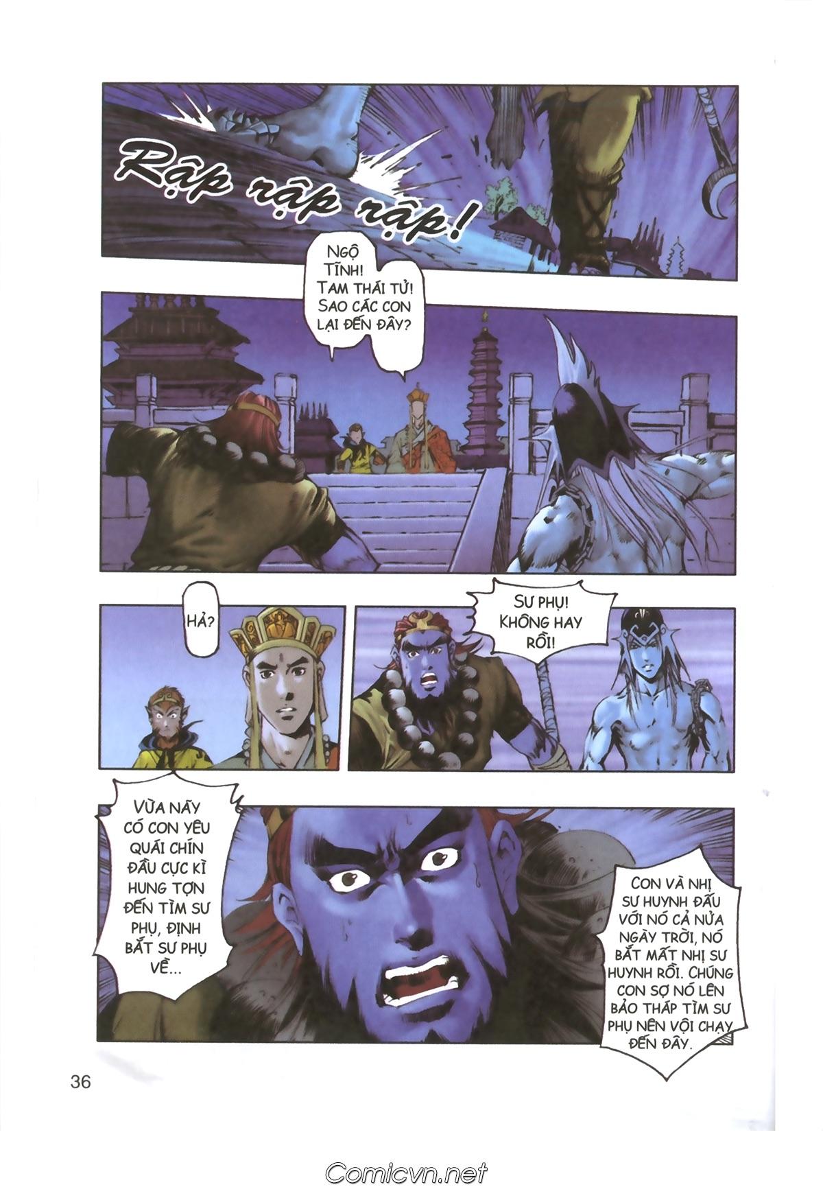 Tây Du Ký màu - Chapter 110 - Pic 34