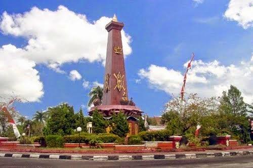 Tugu Bunderan Kota Sampit