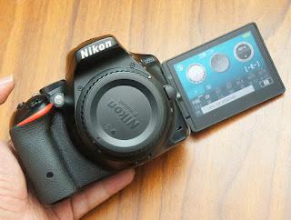 Jual Nikon D5500 Wi-Fi  Bekas